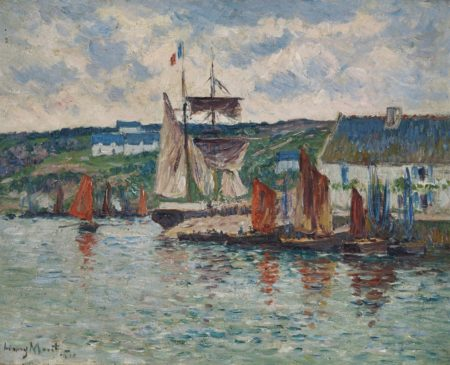 Henry Moret-Marine-1910