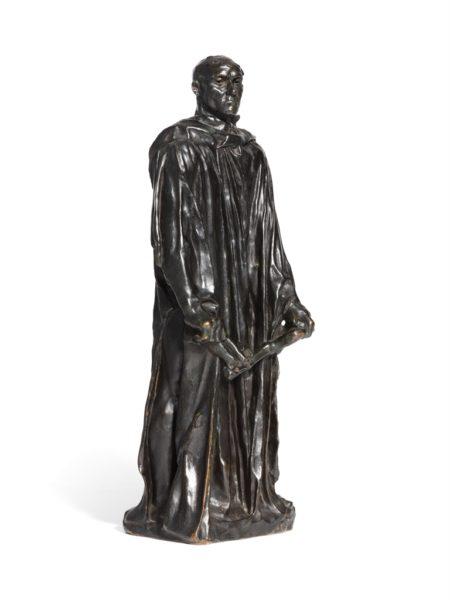 Auguste Rodin-L'un des Bourgeois de Calais: Jean d'Aire, vetu, reduction-1917