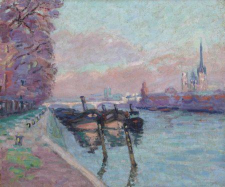 Jean-Baptiste Armand Guillaumin-La Seine a Rouen-1898