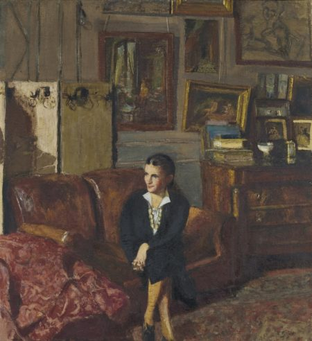 Edouard Vuillard-Portrait de madame Jean-Henri Adam-1937