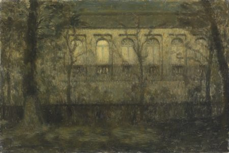 Henri Le Sidaner-L'orangerie, Bruges-1899