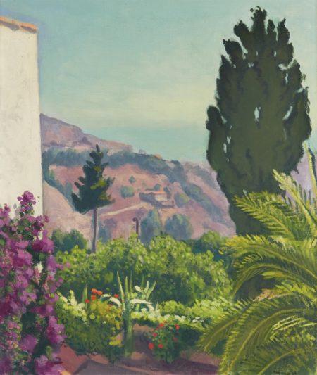 Albert Marquet-Le cypres, printemps-1943