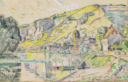 Paul Signac-Petit Andely-1923