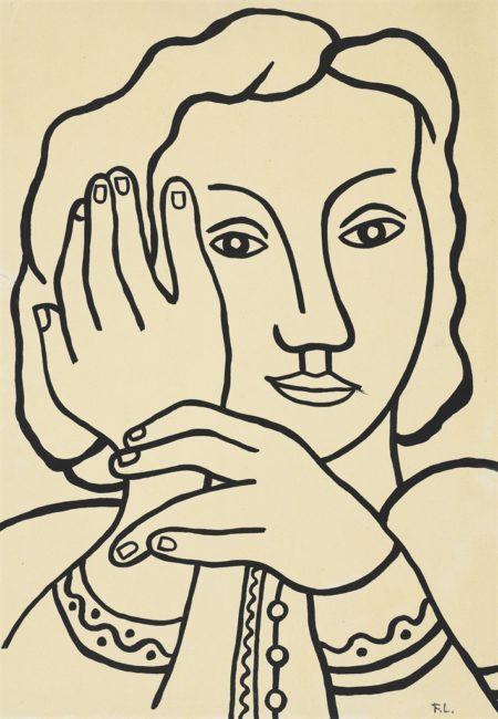 Fernand Leger-Nadia-1952