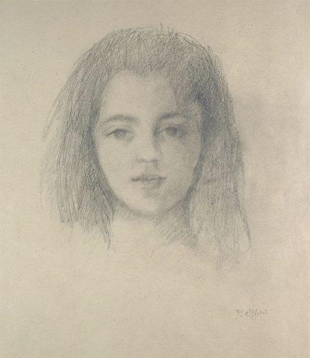 Balthus-Portrait de Frederique-1950