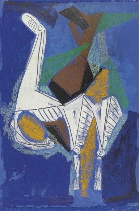 Marino Marini-Cavallo bianco-1956
