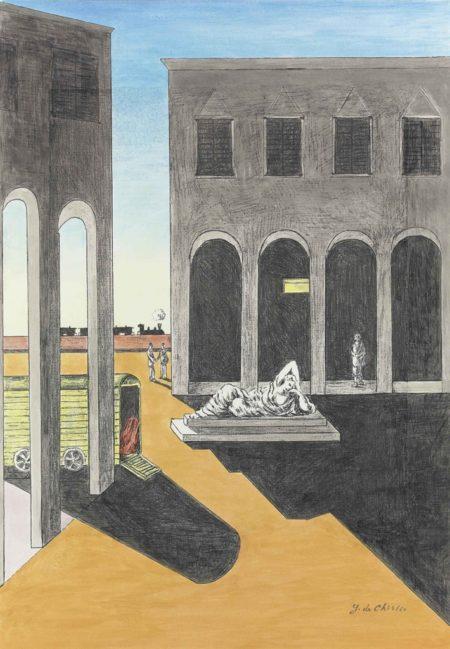 Giorgio de Chirico-Piazza d'Italia-1972