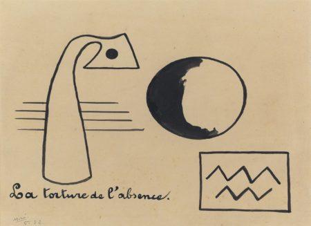 Joan Miro-La torture de l'absence-1932