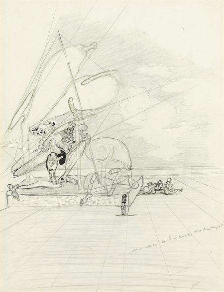 Salvador Dali-Aerodynamique-1933