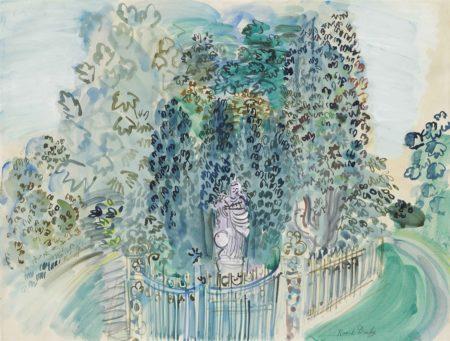 Raoul Dufy-Vierge et enfant dans le parc-1937