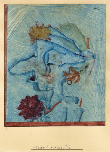 Paul Klee-Komische Alte (Comic old woman)-1930