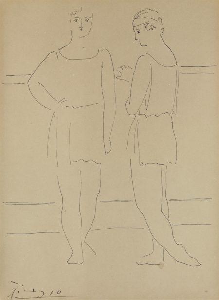 Pablo Picasso-Deux Danseuses-1925