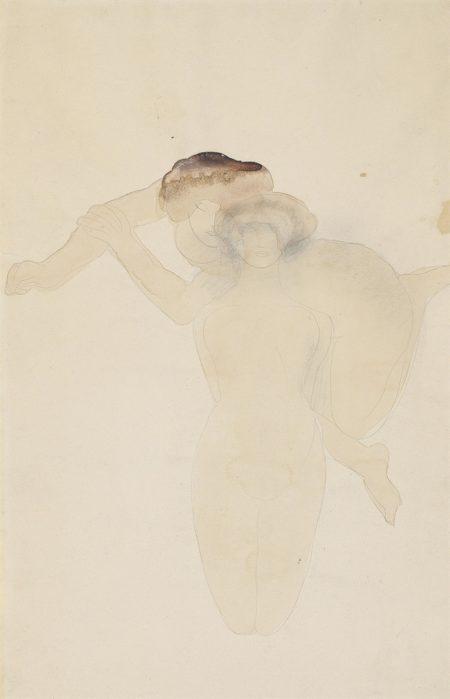 Auguste Rodin-Assemblage de femme vase et de femme agenouillee-1900