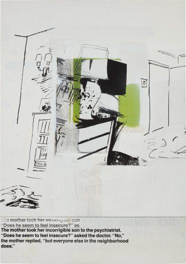 Richard Prince-Do I Seem Insecure-1989