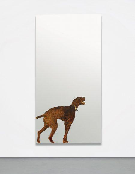 Michelangelo Pistoletto-Violet Dog-1968