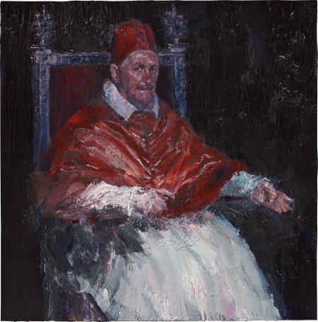 Yan Pei-Ming-Pope Innocent X No. 4-2013