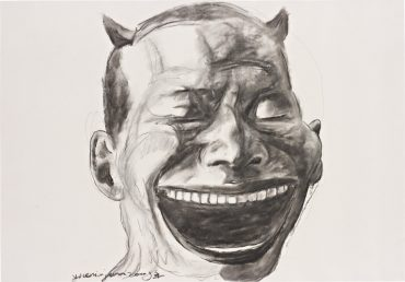 Yue Minjun-Untitled (Portrait)-2009