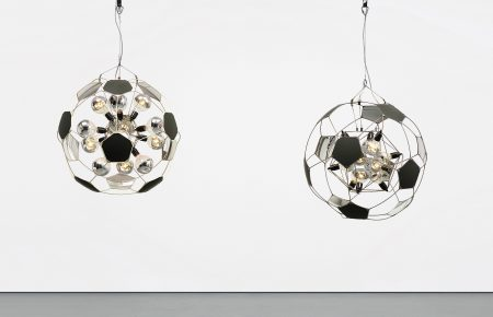 Olafur Eliasson-Football Lamps-2005