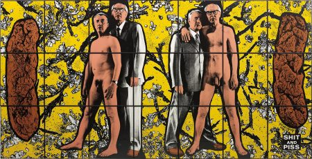 Gilbert and George-Shit And Piss-1996