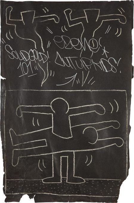 Keith Haring-Subway Drawing-1983