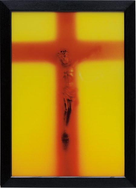 Andres Serrano-Piss Light-1987
