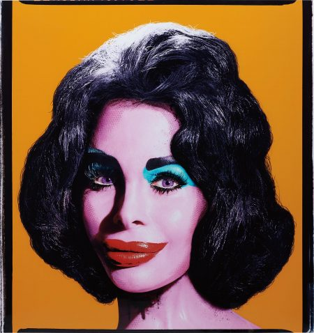 David LaChapelle-Amanda As Andy Warhol's Liz (Orange)-2007