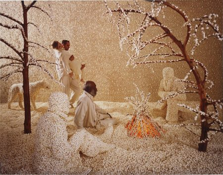Sandy Skoglund-Raining Pop Corn-2001