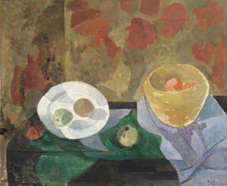 Francisco Bores-Assiette et compotier-1940
