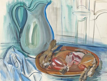 Raoul Dufy-Nature morte au lapin et a la cruche-1944