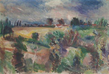 Jean Dufy-Paysage-
