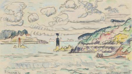 Paul Signac-Le Trieux-1926