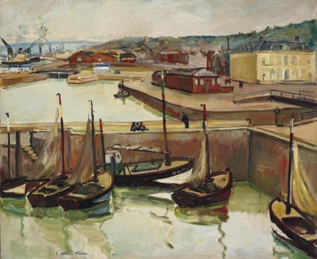 Othon Friesz-Port de Honfleur-