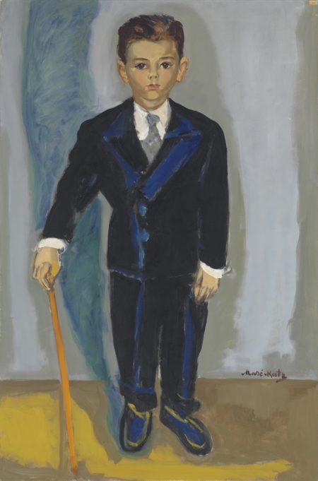 Mane-Katz-Portrait de H.R.-1955