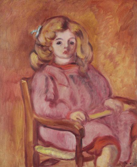 Louis Valtat-L'enfant rose-1913