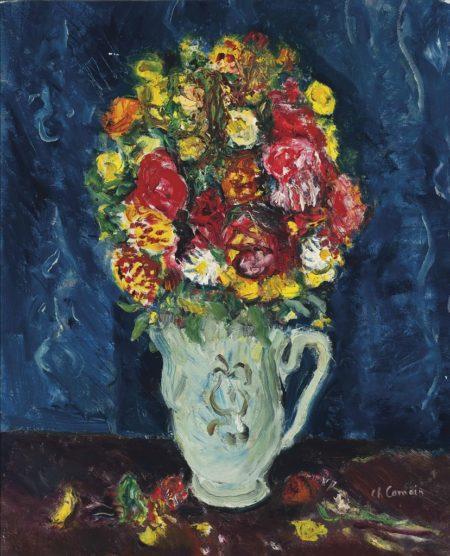 Charles Camoin-Bouquet de fleurs-