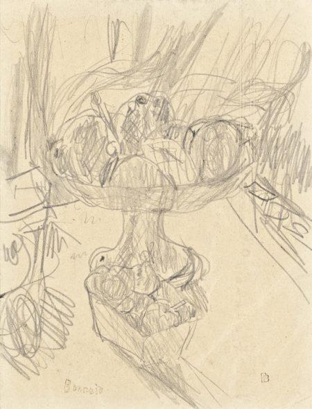 Pierre Bonnard-Compotier de fruits-1932