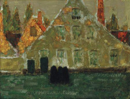 Henri Le Sidaner-Le beguinage, Bruges-1899