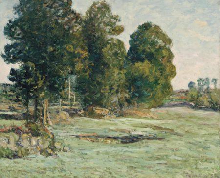 Maxime Maufra-Le matin, paysage a Morgat-1899