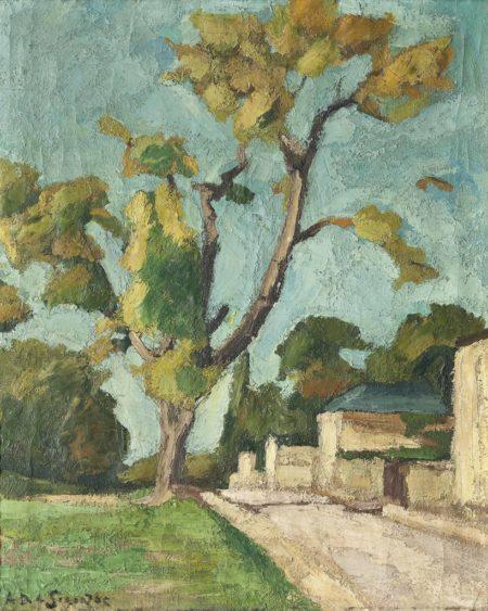 Andre Dunoyer de Segonzac-Viroflay-1912