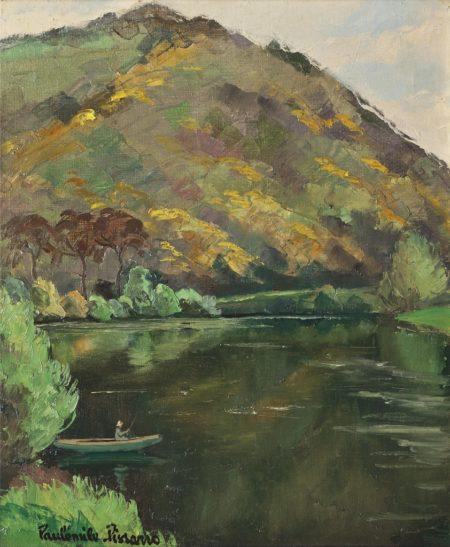 Paul-Emile Pissarro-La roche a Bunel-