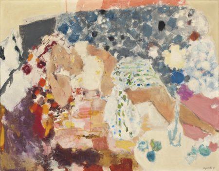 Raymond Jean Legueult-La reveuse-1962