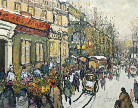 Charles Malle-Marche aux Fleurs, Les Halles-