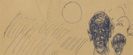Alberto Giacometti-Deux tetes-