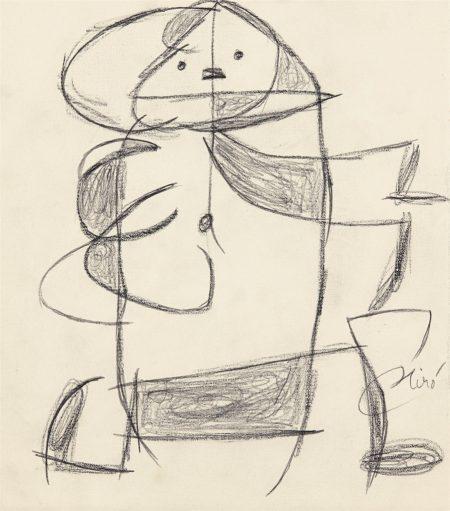 Joan Miro-Femme-1977
