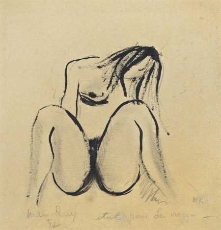 Man Ray-Etude pour la vierge-1952