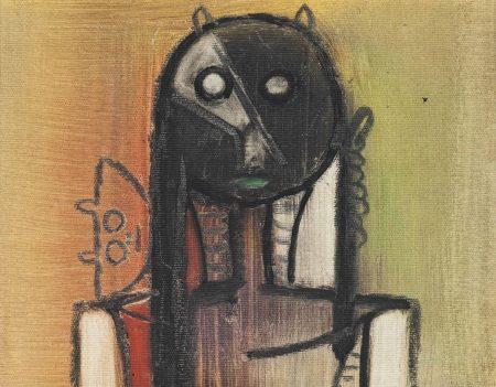 Wifredo Lam-Untitled-1974