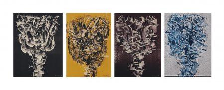 Josef Istler-Surrealist compositions-1959