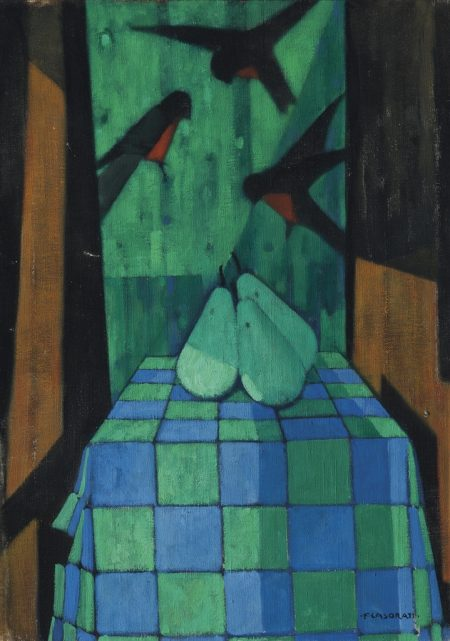 Felice Casorati-Natura Morta-1958