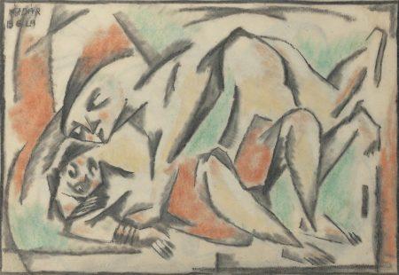 Bela Kadar-Couple II-1920