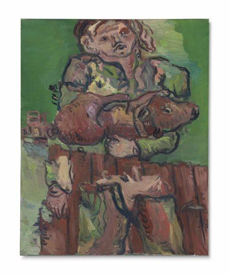 Georg Baselitz-Der Halbierte (The Halved)-1966